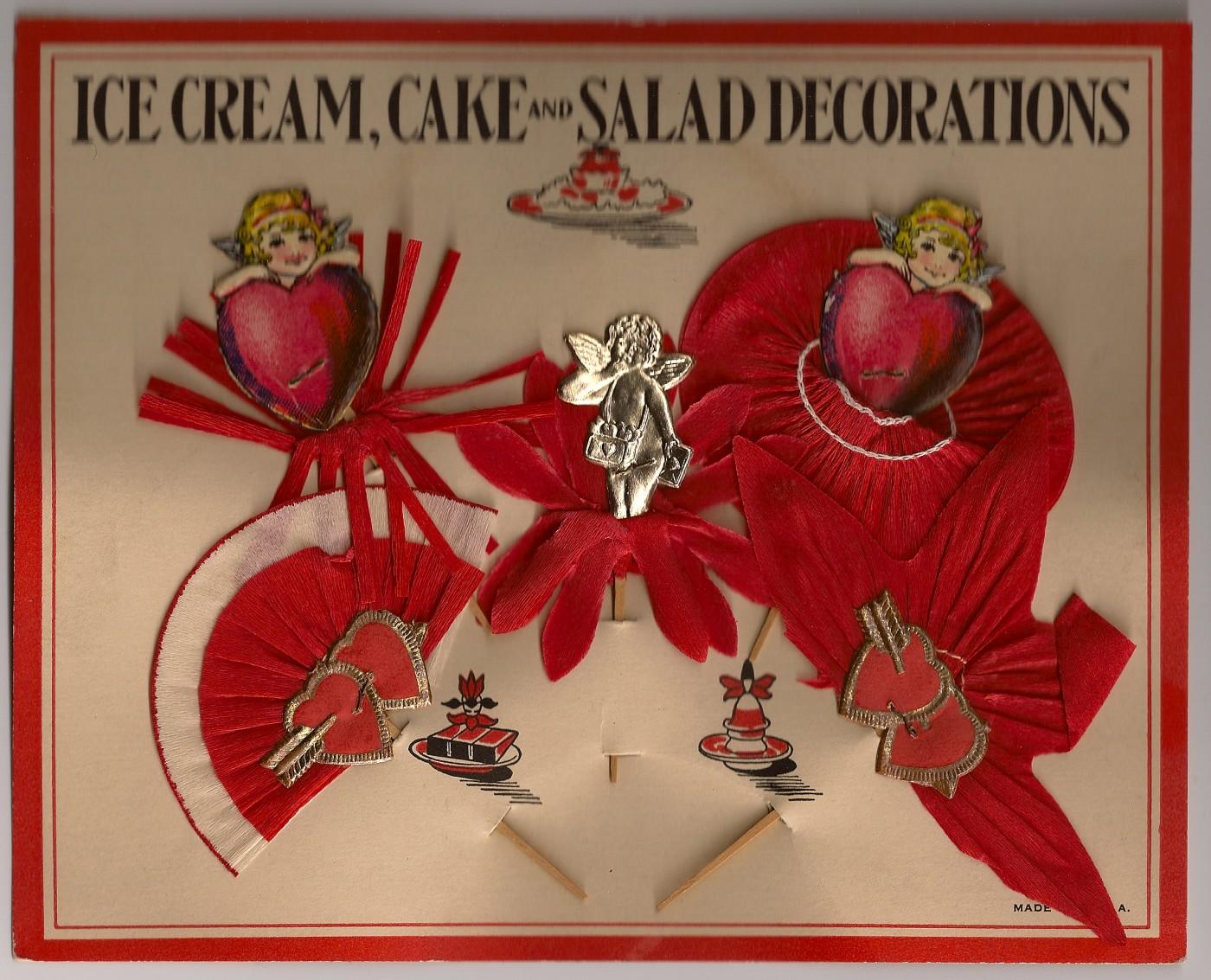 Vlalentine Cake Decorations